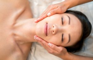 Stress-relief-with-facial-massage